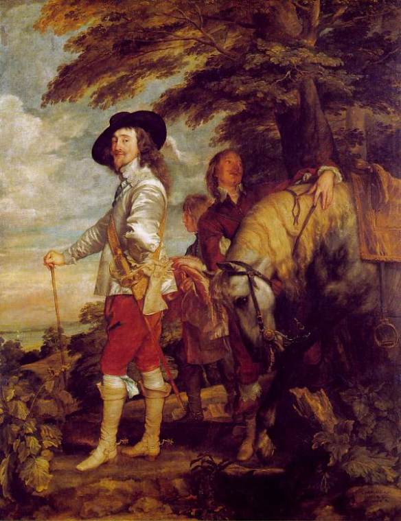 King Charles I at the Hunt by Anthony Van Dyck, Louvre